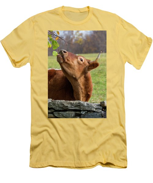 Men's T-Shirt (Slim Fit) featuring the photograph Tasty by Bill Wakeley