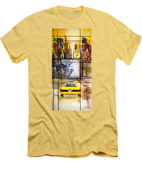 Taxi 7 Men's T-Shirt (Slim Fit)