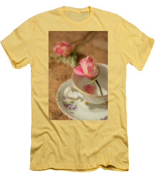 Tea And Roses Men's T-Shirt (Athletic Fit)