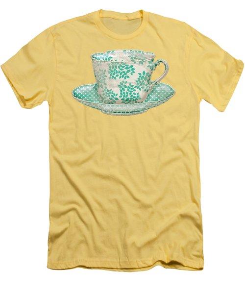 Teacup Garden Party 1 Men's T-Shirt (Athletic Fit)