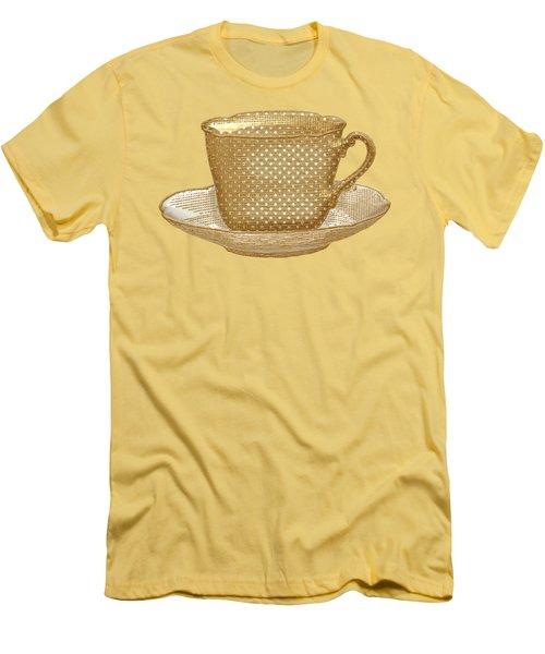 Teacup Garden Party 3 Men's T-Shirt (Athletic Fit)