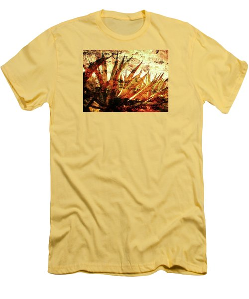 Tequila Field Men's T-Shirt (Slim Fit) by J- J- Espinoza