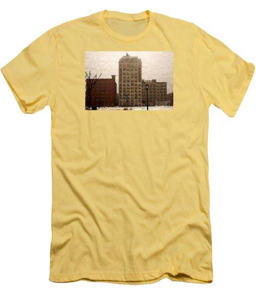 Teweles Teweles Men's T-Shirt (Slim Fit) by David Blank