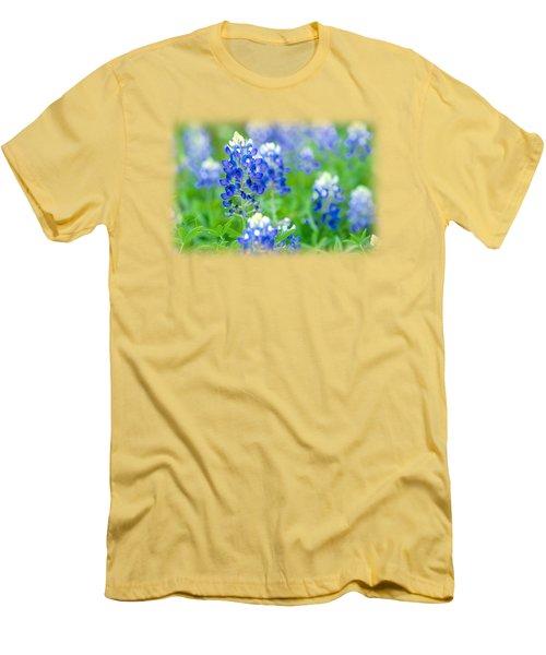 Texas Bluebonnet T-shirt Men's T-Shirt (Athletic Fit)