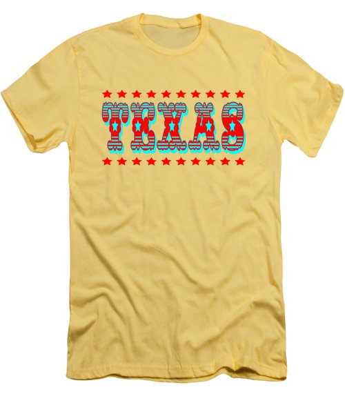 Texas Tshirt Design Men's T-Shirt (Athletic Fit)