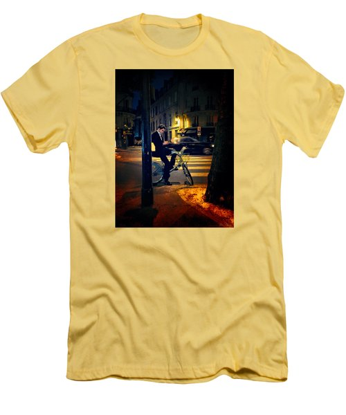 Texting Men's T-Shirt (Athletic Fit)