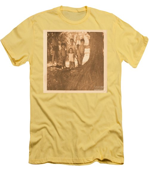 The 70's Series - 1 Men's T-Shirt (Slim Fit) by Beto Machado