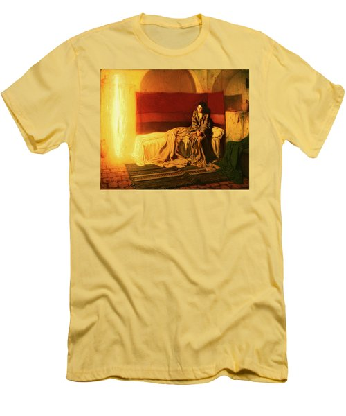 The Annunciation Men's T-Shirt (Athletic Fit)