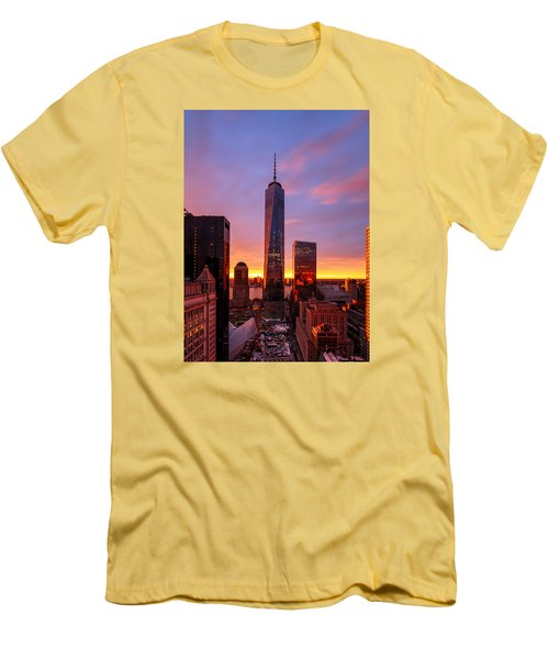 Men's T-Shirt (Slim Fit) featuring the photograph The Beauty Of God by Anthony Fields