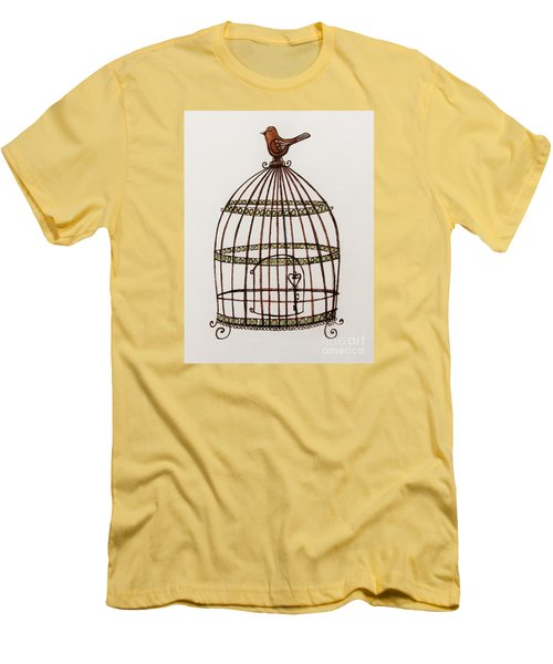 The Birdcage Men's T-Shirt (Athletic Fit)