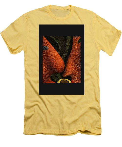 The Birth Of A New Life Men's T-Shirt (Slim Fit) by Alex Galkin