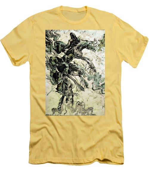 The Black Riders Descend Men's T-Shirt (Athletic Fit)
