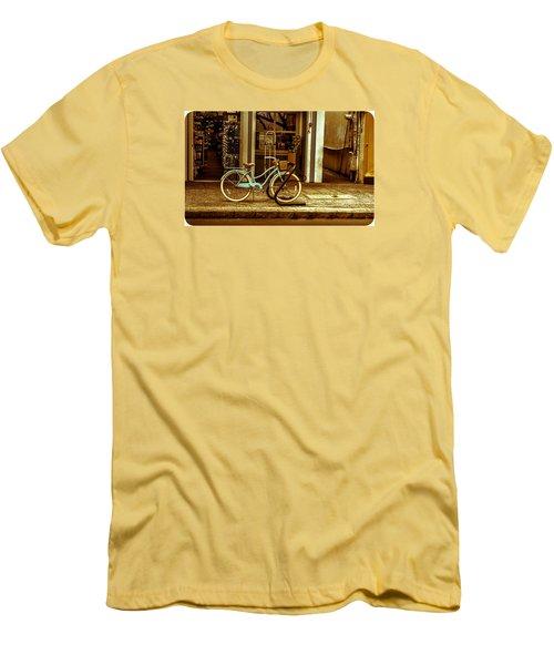 The Blue Bike Men's T-Shirt (Athletic Fit)