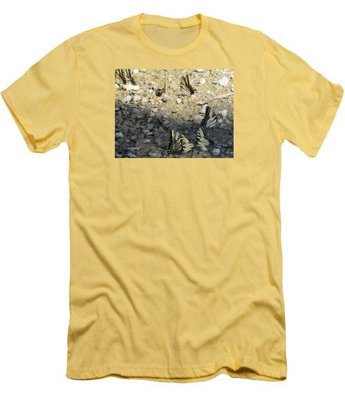 The Butterfly Dance Men's T-Shirt (Slim Fit) by Charlotte Gray