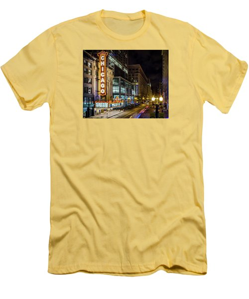 The Chicago Theatre Men's T-Shirt (Athletic Fit)