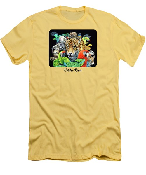 The Circle Of Life Men's T-Shirt (Slim Fit) by Nathan Miller