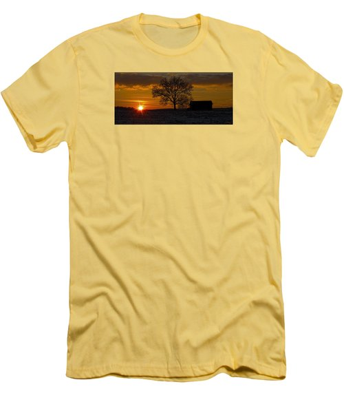 Men's T-Shirt (Slim Fit) featuring the photograph The Circle Of Life by Skip Tribby