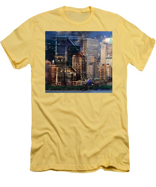 The City Men's T-Shirt (Athletic Fit)