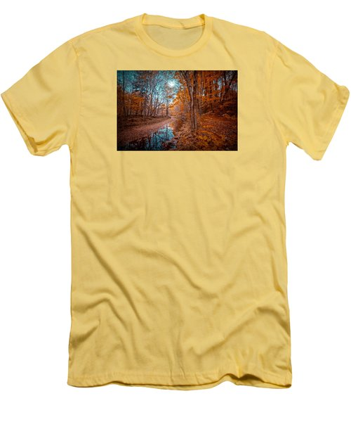The Color Of Fall Men's T-Shirt (Athletic Fit)
