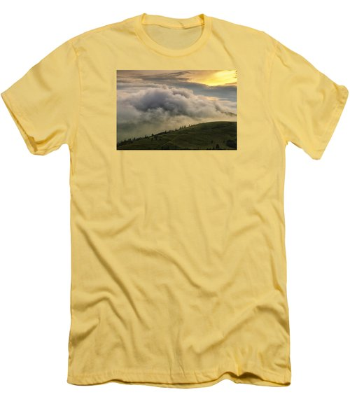 Summer Storm - Roan Mountain Men's T-Shirt (Athletic Fit)