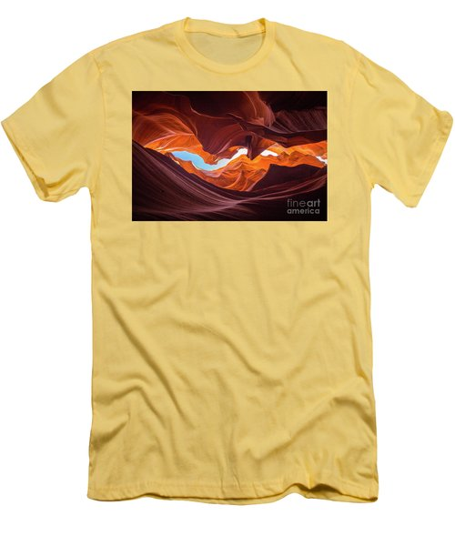 The Crack Men's T-Shirt (Slim Fit) by JR Photography