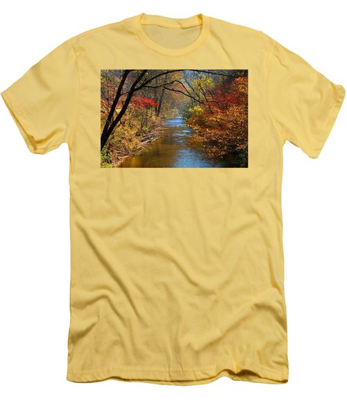 The Dan River Men's T-Shirt (Slim Fit) by Kathryn Meyer