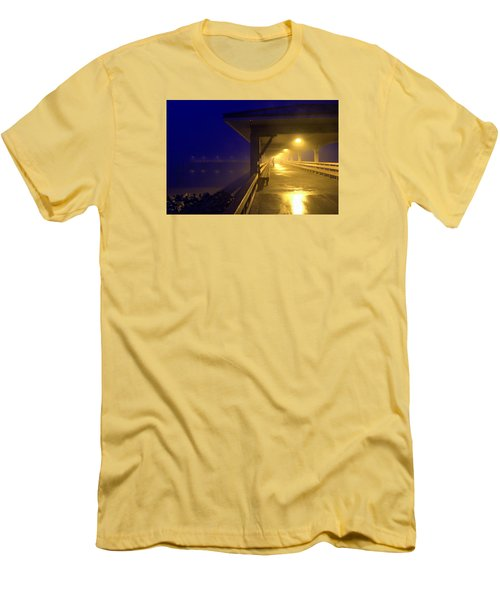 The Early Bird Men's T-Shirt (Slim Fit) by Laura Ragland
