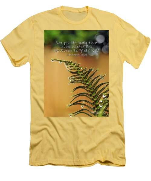 Men's T-Shirt (Athletic Fit) featuring the photograph The Edges Of Time by Peggy Hughes
