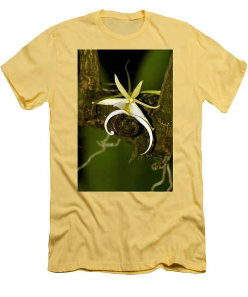 The Elusive And Rare Ghost Orchid Men's T-Shirt (Athletic Fit)