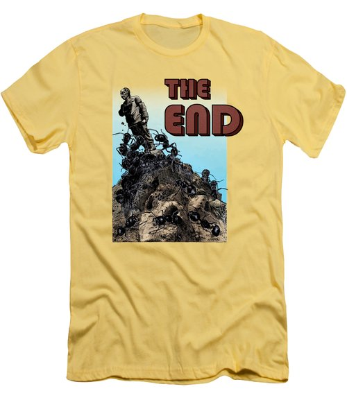 The End Men's T-Shirt (Slim Fit) by Joseph Juvenal