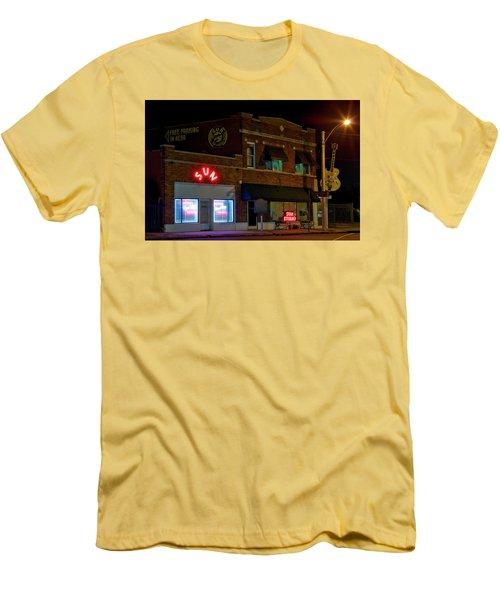 The Famous Sun Records Studio Men's T-Shirt (Athletic Fit)