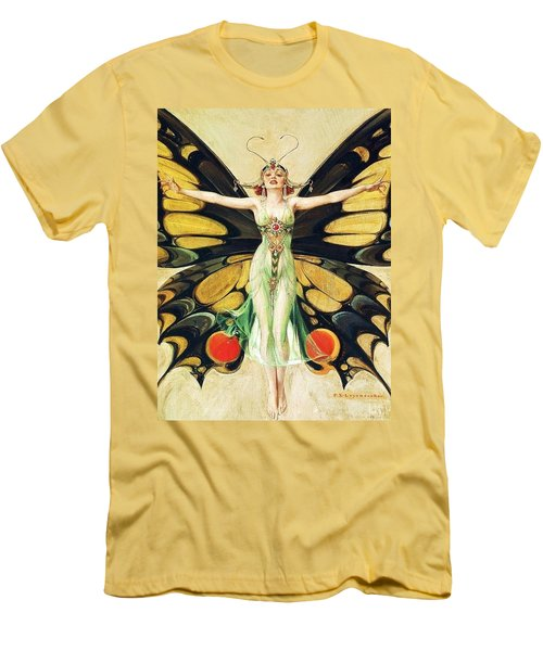 The Flapper Men's T-Shirt (Slim Fit) by Pg Reproductions