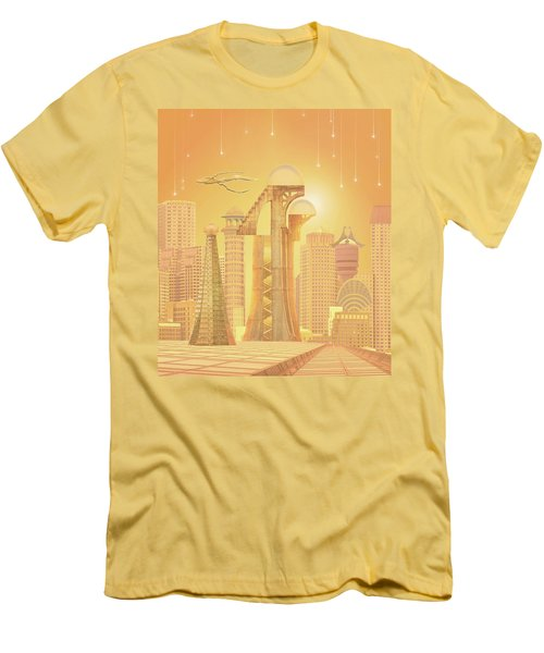 The Future Is Golden Men's T-Shirt (Athletic Fit)