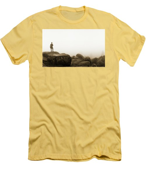 The General's View Men's T-Shirt (Slim Fit) by Jan W Faul