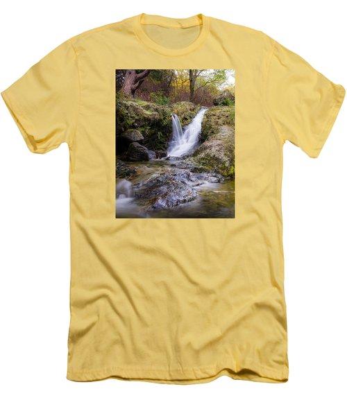 The Glen River Falls Men's T-Shirt (Athletic Fit)