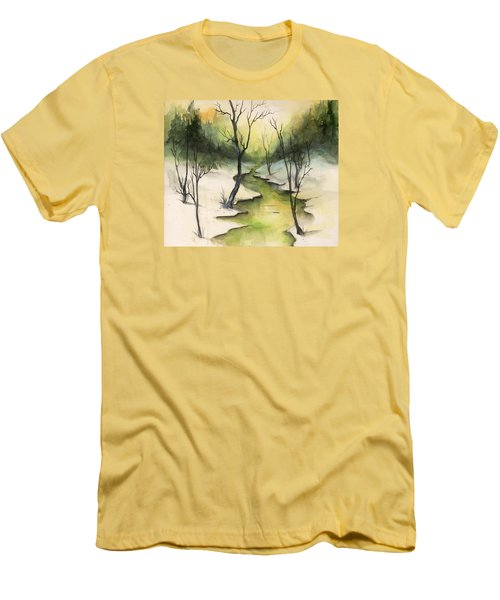 The Greenwood Men's T-Shirt (Slim Fit) by Terry Webb Harshman