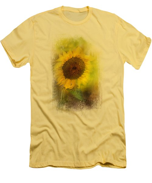 The Happiest Flower Men's T-Shirt (Athletic Fit)