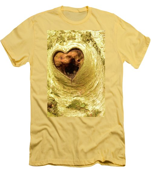 The Heart Of The Tree Men's T-Shirt (Athletic Fit)