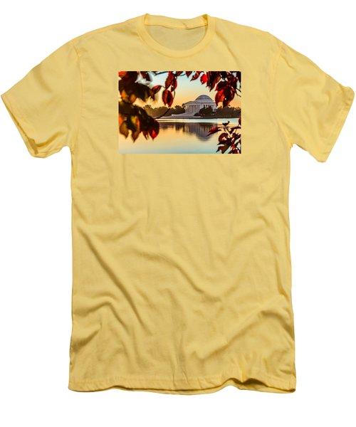 Jefferson In Autumn Men's T-Shirt (Athletic Fit)