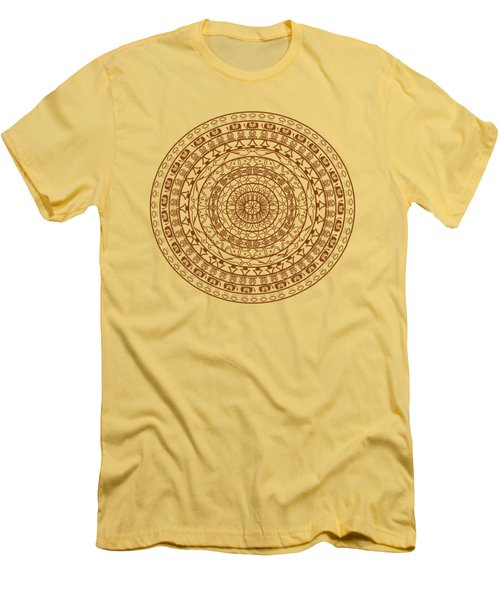 The Jungle Mandala Men's T-Shirt (Athletic Fit)