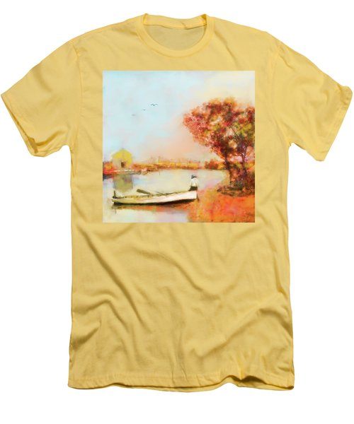 The Life Of A Fisherman Men's T-Shirt (Athletic Fit)