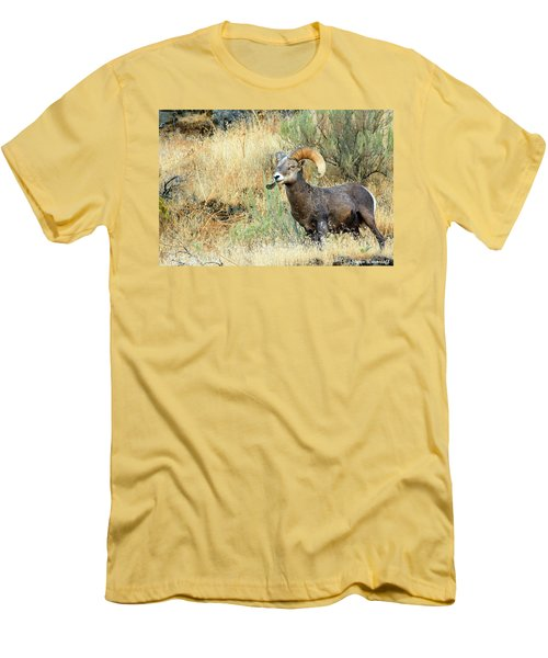 The Loner II Men's T-Shirt (Slim Fit) by Steve Warnstaff