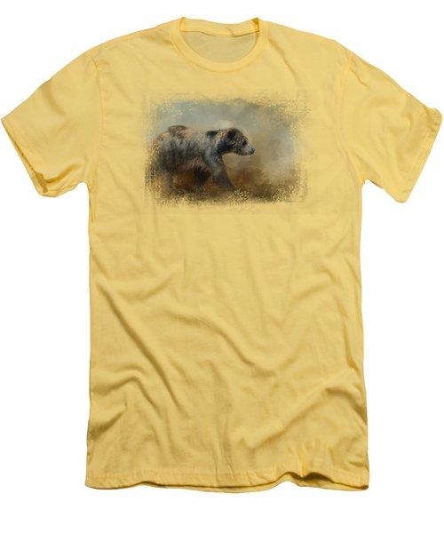 The Long Walk Home Men's T-Shirt (Slim Fit) by Jai Johnson