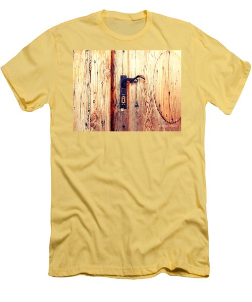 The Lovely Door Handle Men's T-Shirt (Athletic Fit)