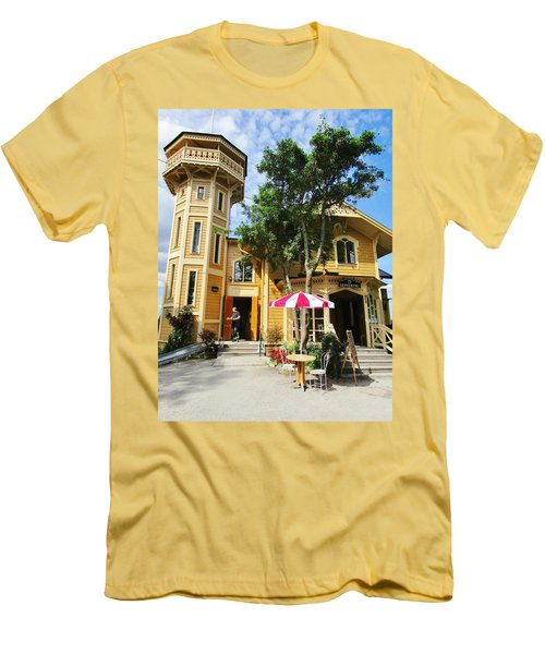 The Lyre  Men's T-Shirt (Athletic Fit)