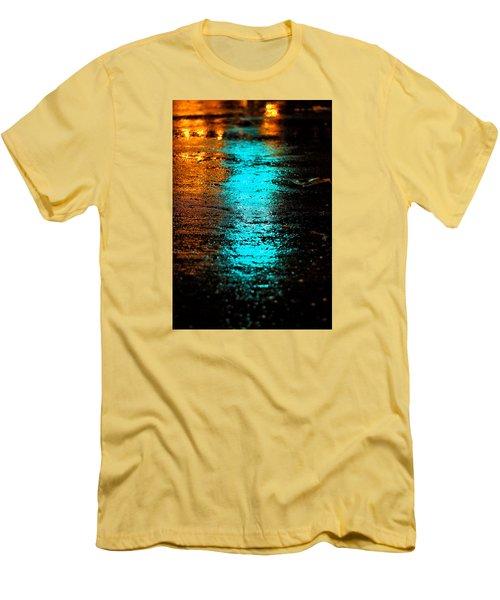 The Memory Lane II Men's T-Shirt (Slim Fit) by Prakash Ghai