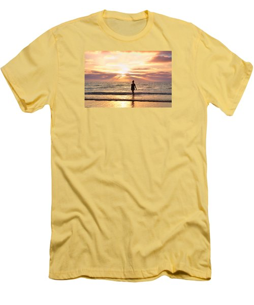 Men's T-Shirt (Slim Fit) featuring the photograph The Mermaid by Rima Biswas