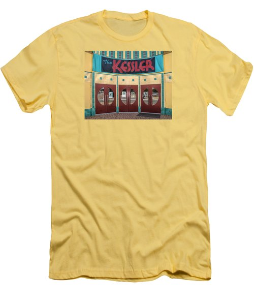 The Movie Theater Men's T-Shirt (Slim Fit) by David and Carol Kelly
