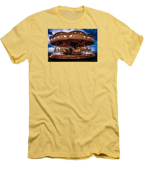 Men's T-Shirt (Slim Fit) featuring the photograph The Mystical Dragon Chariot by Chris Lord