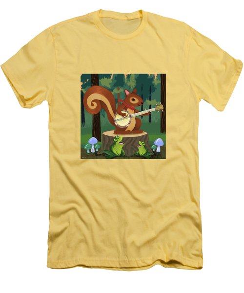 The Nutport Croak Music Festival Men's T-Shirt (Athletic Fit)